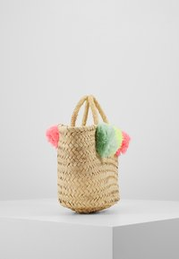Sunuva - GIRLS POM POM BEACH BASKET - Handbag - multi - 4
