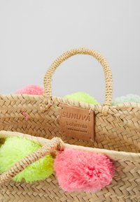 Sunuva - GIRLS POM POM BEACH BASKET - Handbag - multi - 5