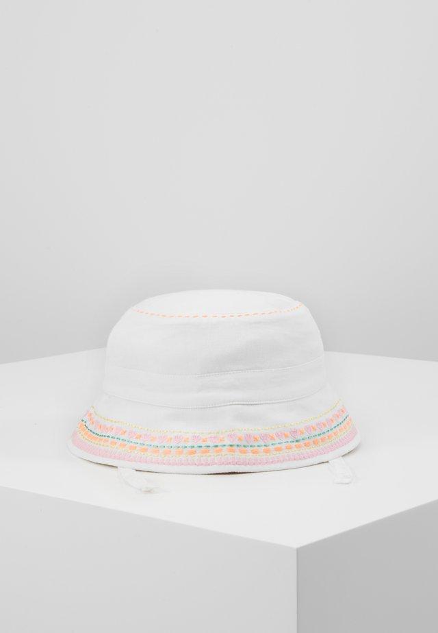 GIRLS WHITE SUN HAT - Klobouk - white