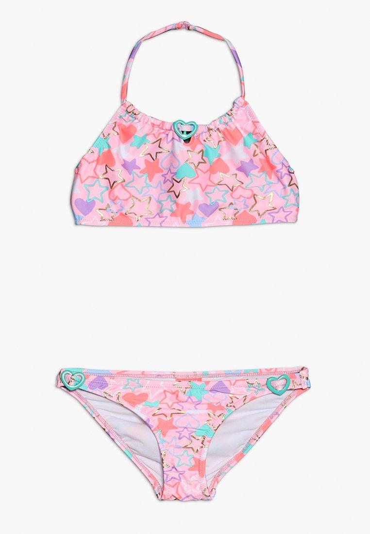 Sunuva - GIRLS BEADED HEART - Bikini - baby pink