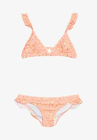Sunuva - GIRLS FRILL STRAP - Bikini - orange sorbet - 3