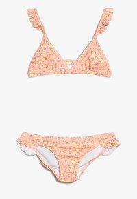 Sunuva - GIRLS FRILL STRAP - Bikini - orange sorbet - 0