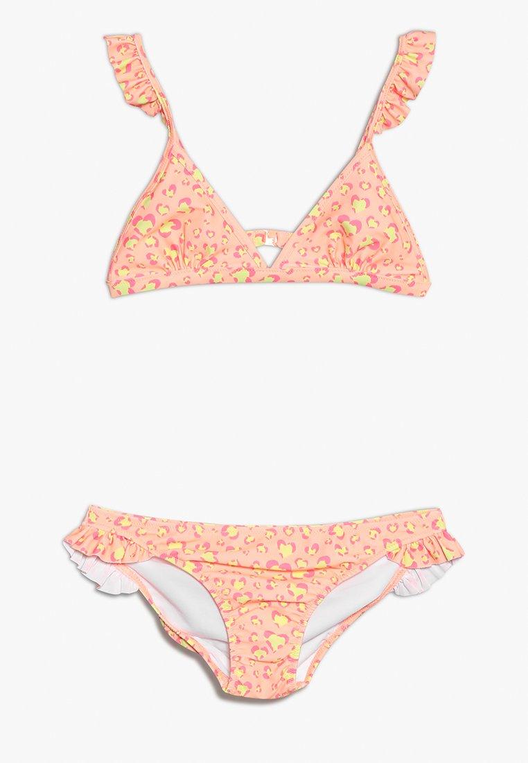 Sunuva - GIRLS FRILL STRAP - Bikini - orange sorbet