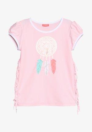 GIRLS CAP SLEEVE RASH - T-shirt de surf - baby pink
