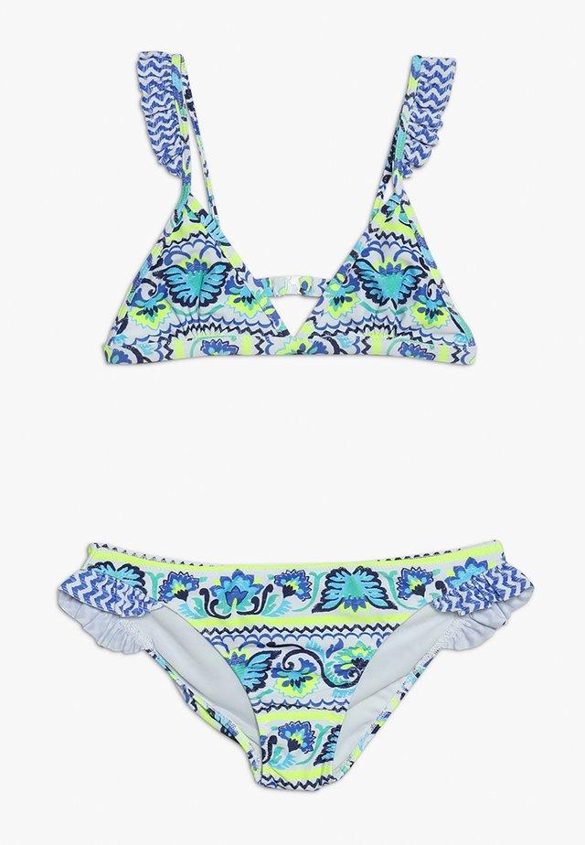 GIRLS FRILL STRAP - Bikini - blue