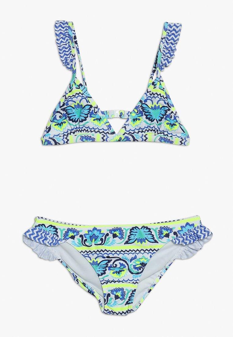 Sunuva - GIRLS FRILL STRAP - Bikiny - blue