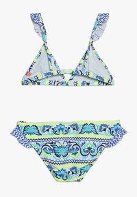 Sunuva - GIRLS FRILL STRAP - Bikiny - blue - 1