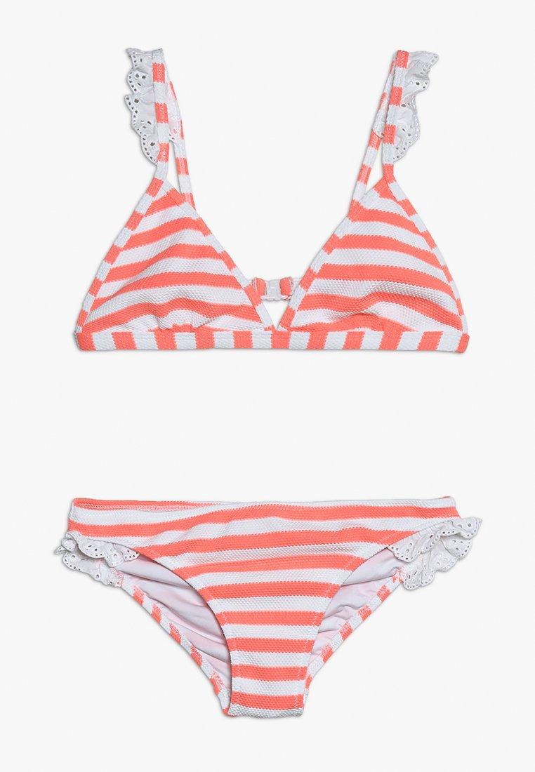 Sunuva - GIRLS FRILL STRAP - Bikini - sherbert pink