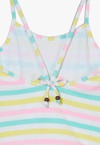 Sunuva - GIRLS STRIPE STRAPPY SWIMSUIT - Kostium kąpielowy - multi coloured - 3