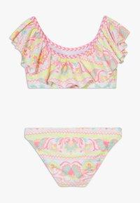 Sunuva - GIRLS PERUVIAN STITCH OFF SHOULDER SET - Bikini - white - 1