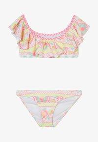 Sunuva - GIRLS PERUVIAN STITCH OFF SHOULDER SET - Bikini - white - 2