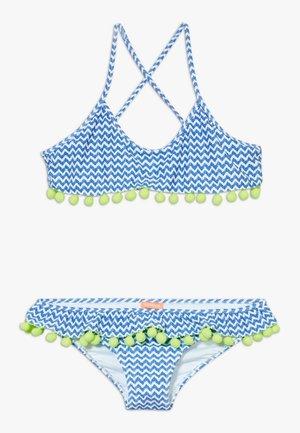 GIRLS FRILL  - Bikini - blue