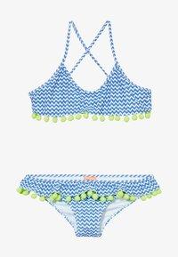 Sunuva - GIRLS FRILL  - Bikini - blue - 3