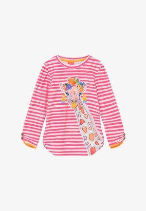 GIRLS LONG SLEEVE - Koszulki do surfowania - hot pink