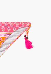 Sunuva - GIRLS BLOCK PRINT BANDEAU SET - Bikinier - sherbert pink - 4