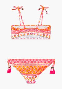 Sunuva - GIRLS BLOCK PRINT BANDEAU SET - Bikinier - sherbert pink - 1