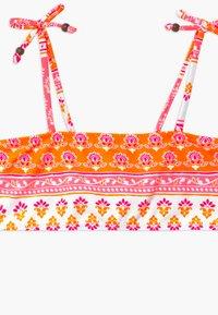 Sunuva - GIRLS BLOCK PRINT BANDEAU SET - Bikinier - sherbert pink - 2