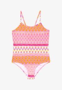 Sunuva - GIRLS BLOCK PRINT - Badeanzug - sherbert pink - 2