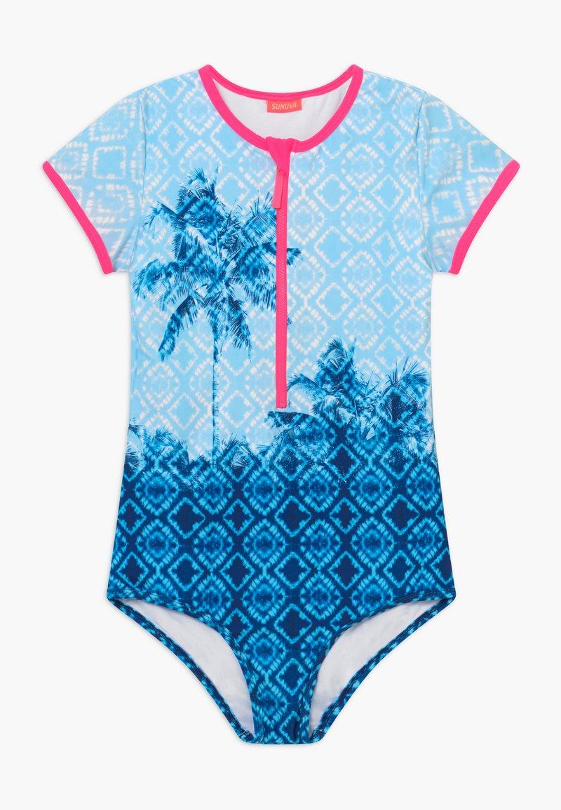Sunuva - TEEN GIRLS  SURF - Plavky - blue