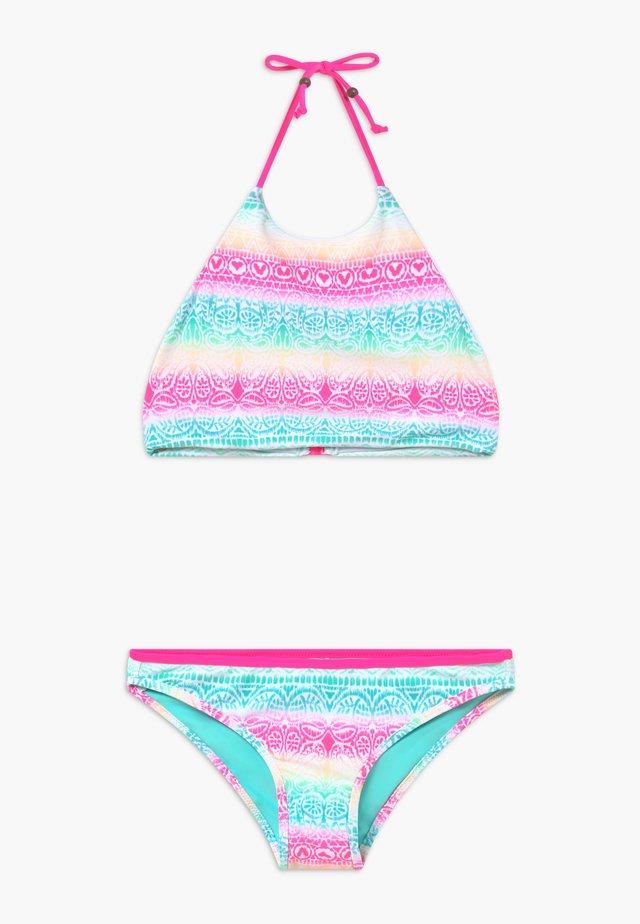 TEEN GIRLS HALTERNECK BIKINI - Bikinier - pink