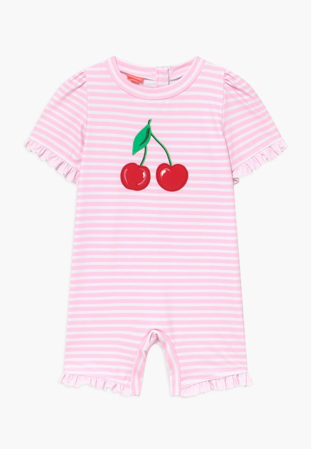 CHERRIES SUN SUIT - Plavky - pink