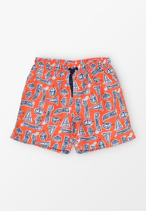 BOYS SWIM SHORT - Szorty kąpielowe - orange