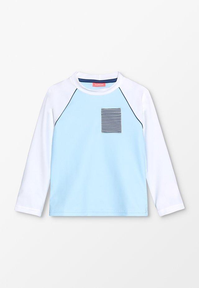 BOYS RAGLAN RASH - Surfshirt - blue