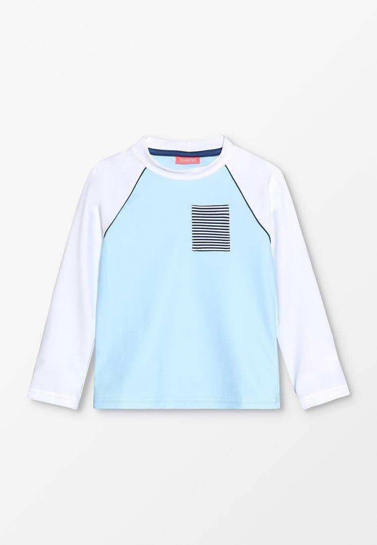 Sunuva - BOYS RAGLAN RASH - Surfshirt - blue