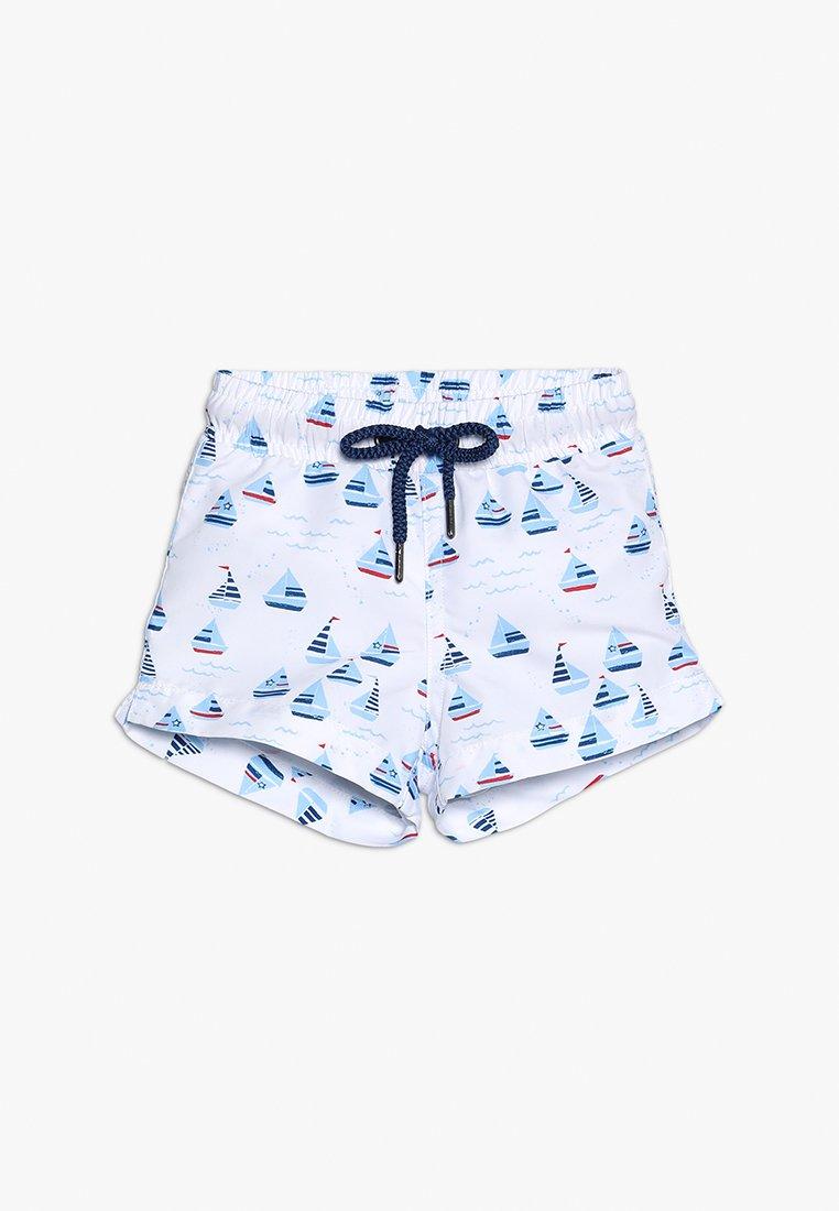 Sunuva - BABY BOYS SWIM SHORT - Swimming shorts - white