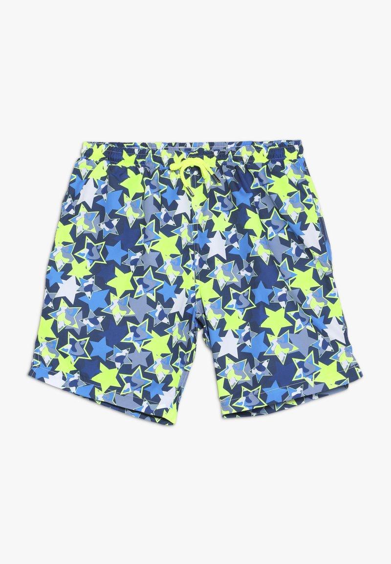 Sunuva - BOYS CAMO STARS SWIM  - Swimming shorts - blue