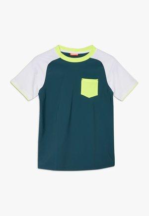 BOYS SLEEVE RASH VEST - Camiseta de lycra/neopreno - teal