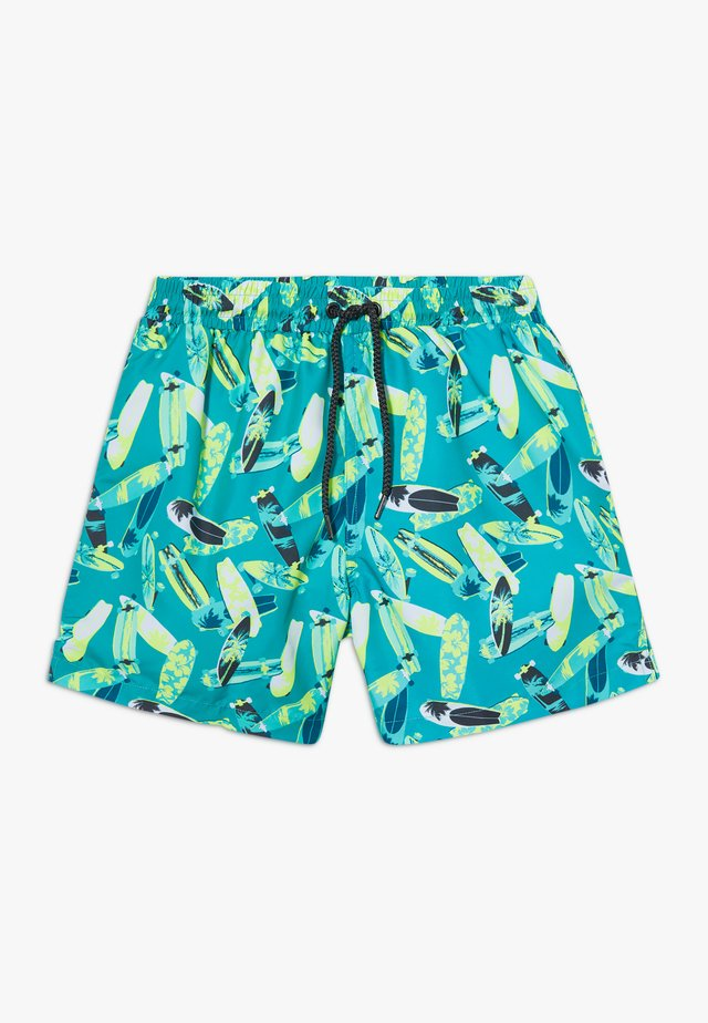 BOYS LONGBOARD SWIM  - Surfshorts - teal