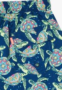 Sunuva - BOYS PHSYCHODELLIC TURTLE - Szorty kąpielowe - navy - 4