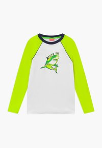 Sunuva - BOYS  SHARK LONG SLEEVE - Koszulki do surfowania - white - 0