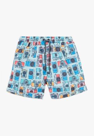 BOYS VINTAGE CAMERA SWIM - Badeshorts - blue