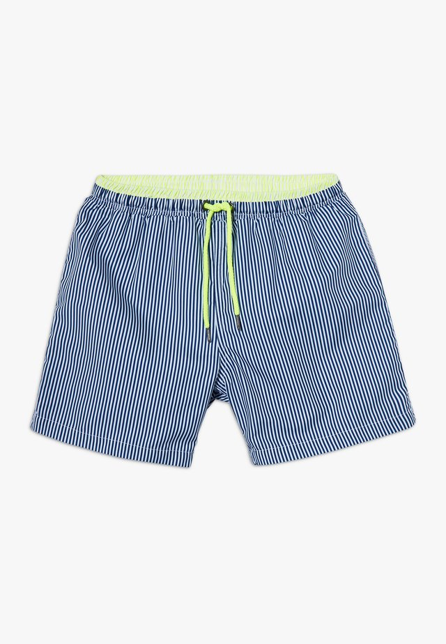 BOYS SUNUVA STRIPE SWIM - Surfshorts - navy