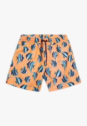BOYS FISH SWIM - Badeshorts - neon orange