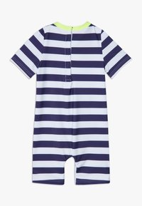 Sunuva - STRIPE SUNSUIT - Badeanzug - navy - 1