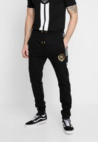 Supply & Demand - FORTUNE  - Teplákové kalhoty - grey/black - 0