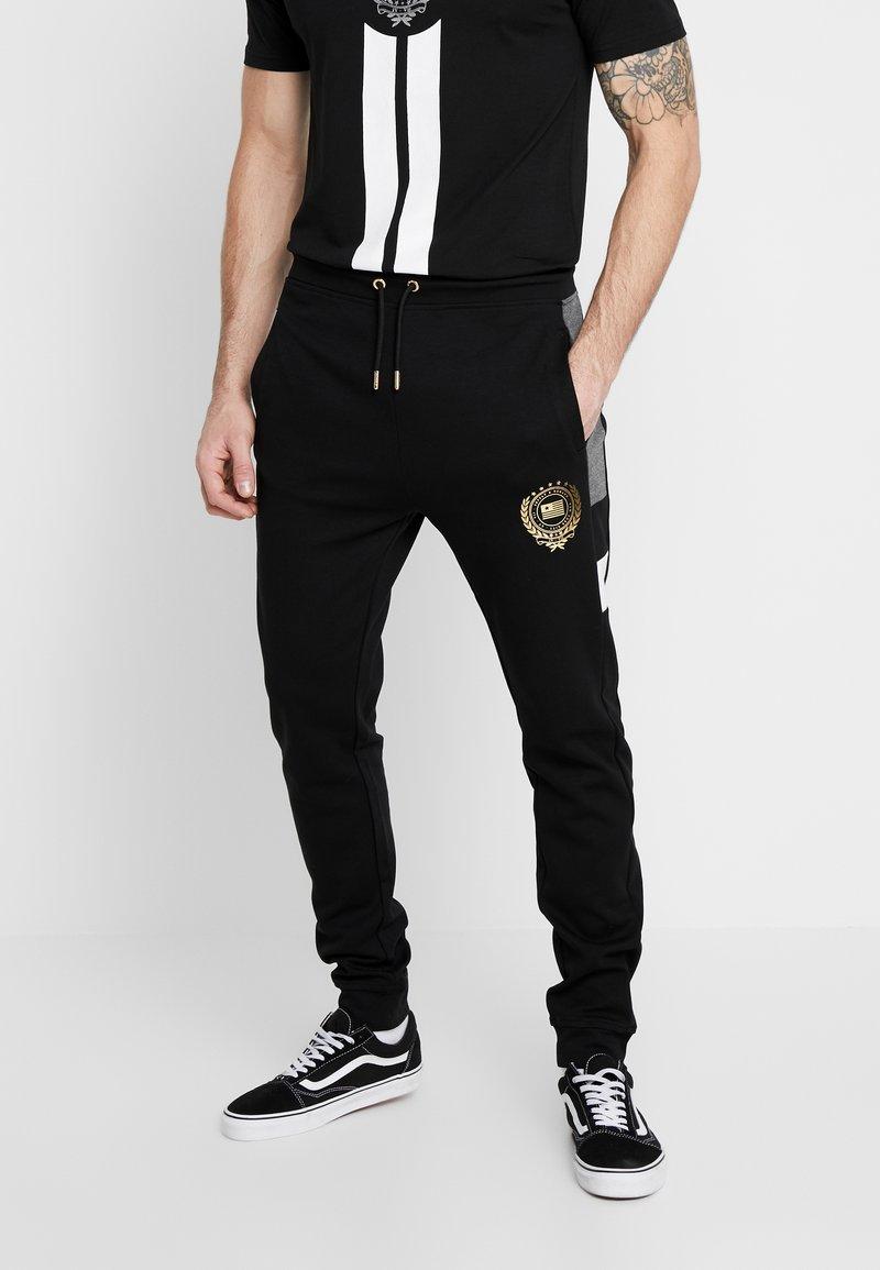 Supply & Demand - FORTUNE  - Teplákové kalhoty - grey/black