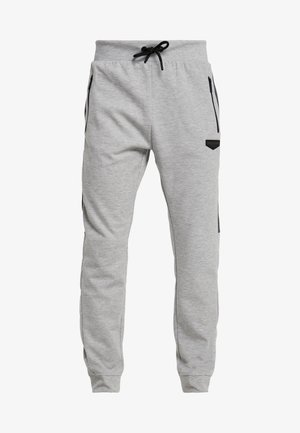 GLACIER - Tracksuit bottoms - grey marl