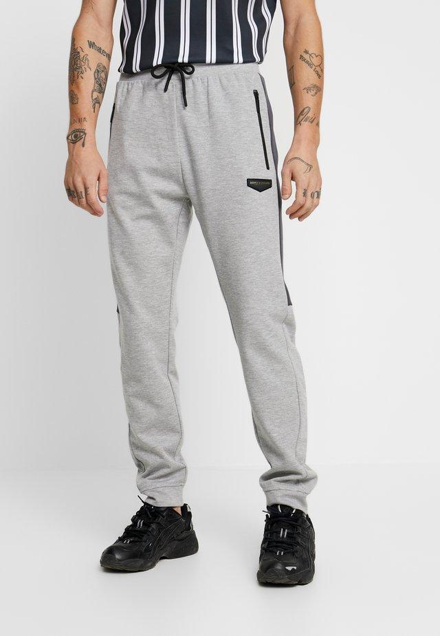 GLACIER - Pantaloni sportivi - grey marl