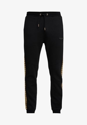 SLICK JOG - Pantalon de survêtement - black/gold