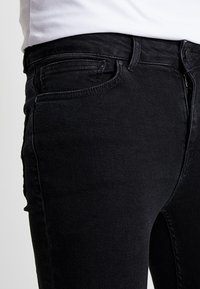 Supply & Demand - DISTRESSED - Skinny džíny - grey wash washed black - 3