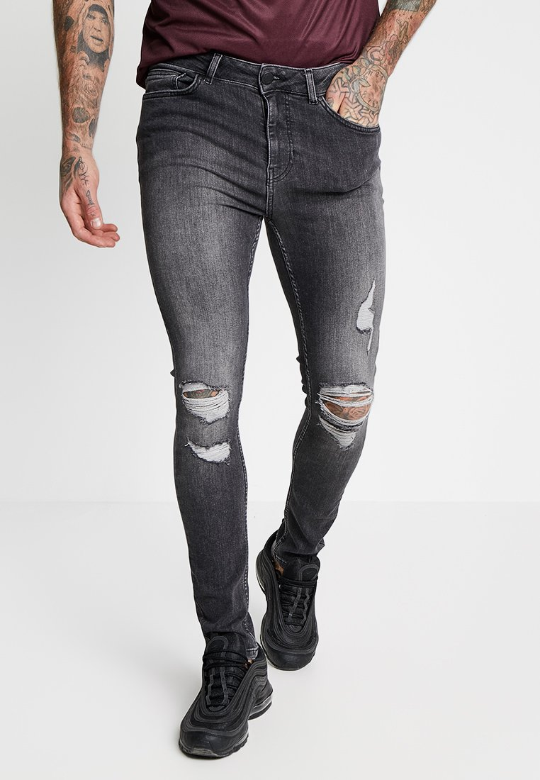 Supply & Demand - DISTRESSED - Jeans Skinny Fit - grey wash