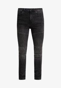 Supply & Demand - ANARCHY  - Skinny džíny - black fade - 4