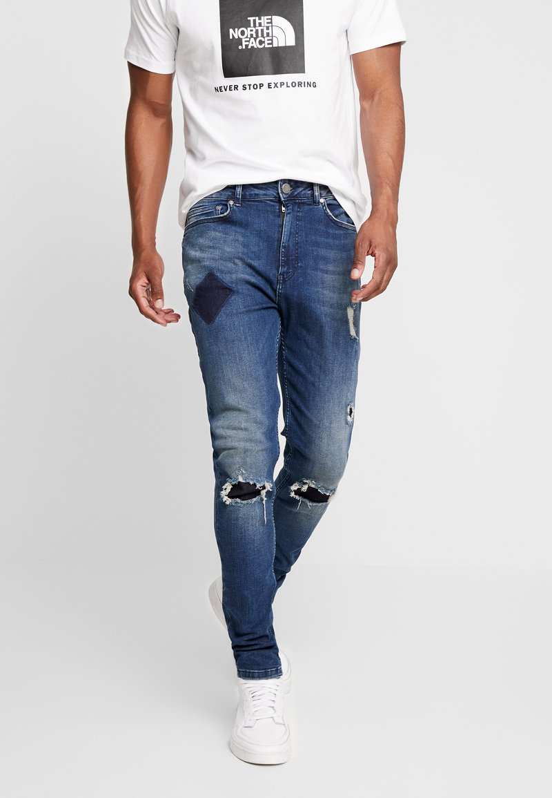 Supply & Demand - REPAIR  - Skinny džíny - mid wash