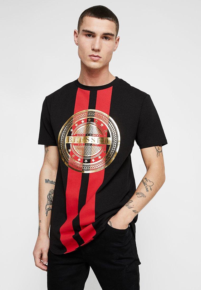 Supply & Demand - RUNWAY TEE - T-shirt con stampa - black