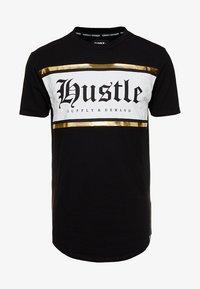 Supply & Demand - JULIIO TEE - T-shirt imprimé - black - 4