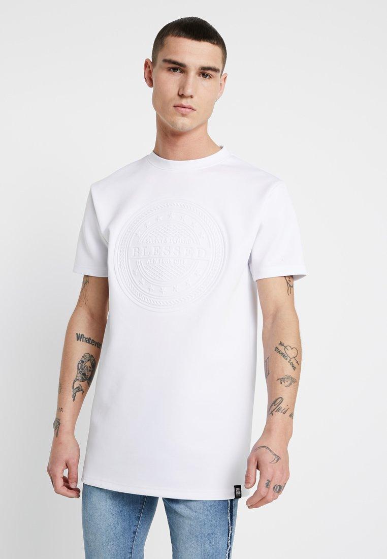 Supply & Demand - EMBOSS TEE - Basic T-shirt - white